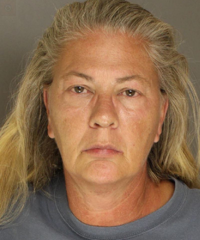 56 year old Gina Myers arrested by Carlisle Police for aggravated assault after police say she tried to run down victim