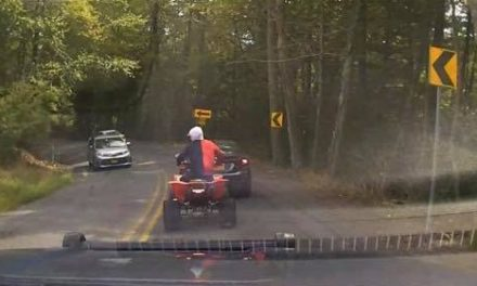Pocono Township Police ask for help to identify ATV rider who fled police