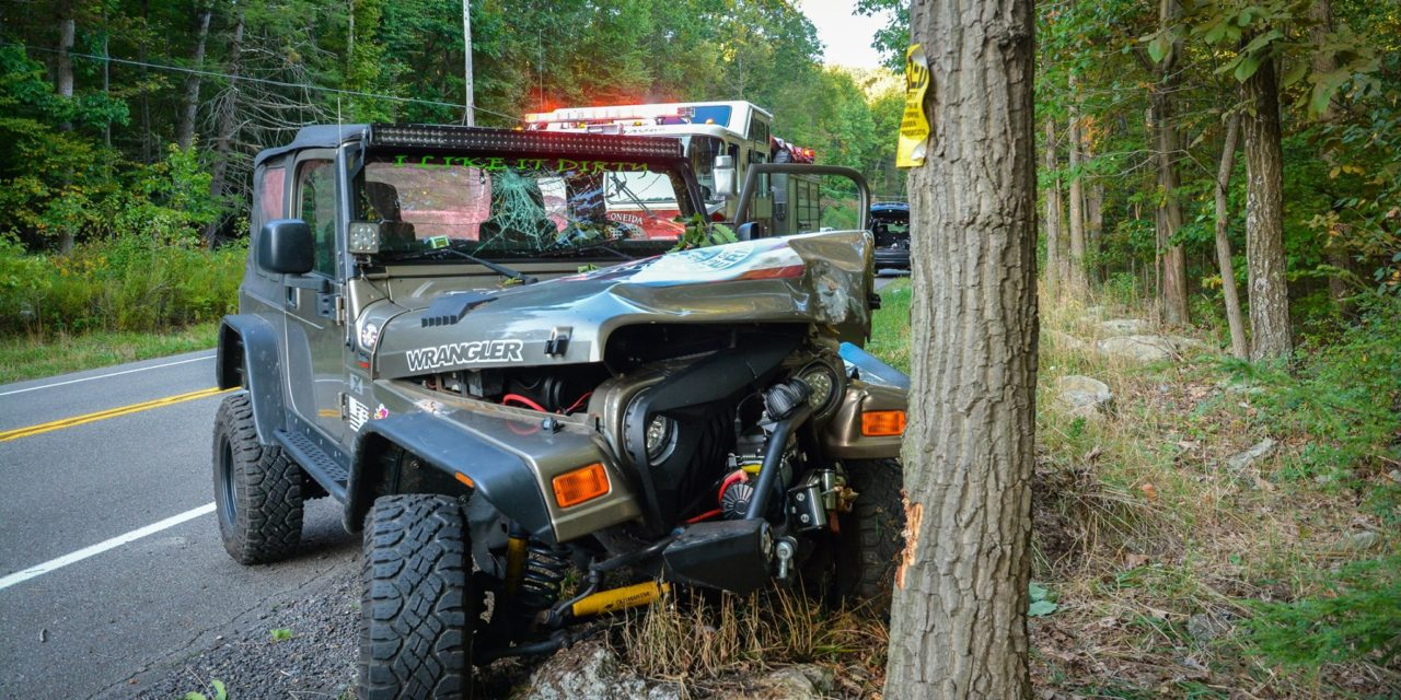 Sheppton-Oneida Volunteer Fire Company responds to motor vehicle accident with injuries