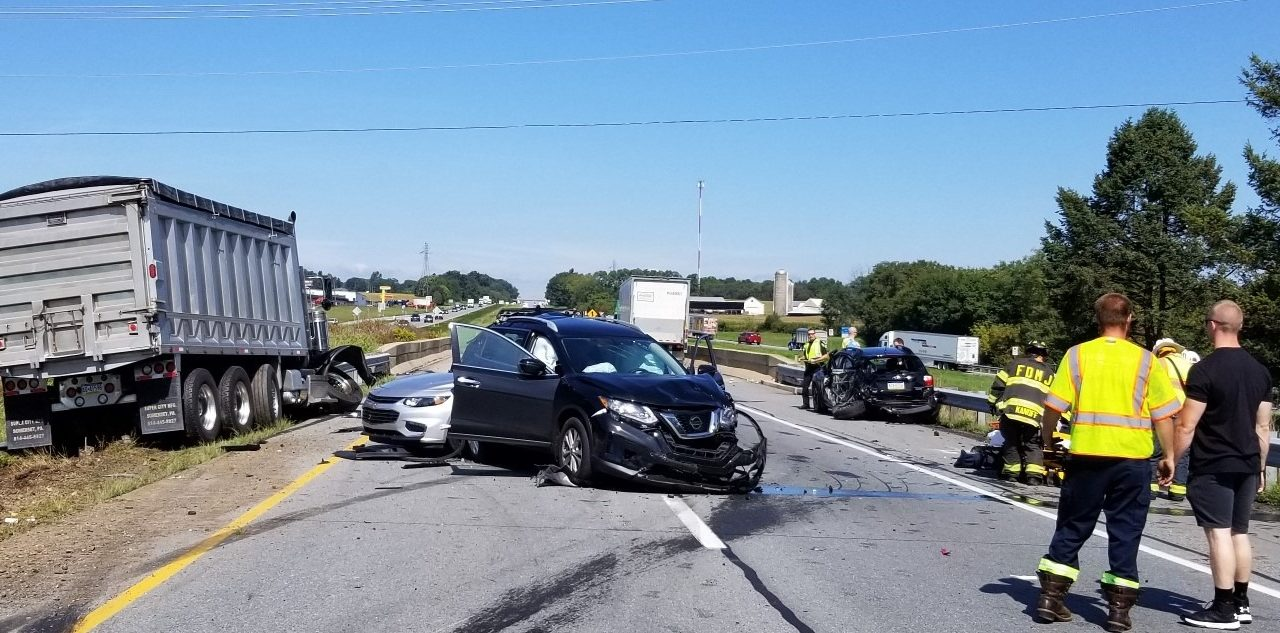 Susquehanna EMS responds to accident on Route 283, three people transported to the hospital