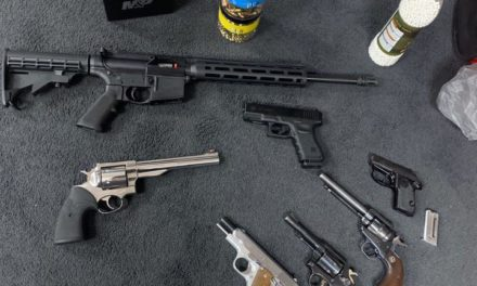 Lackawanna County SWAT and Throop Police arrest man for illegal gun sales