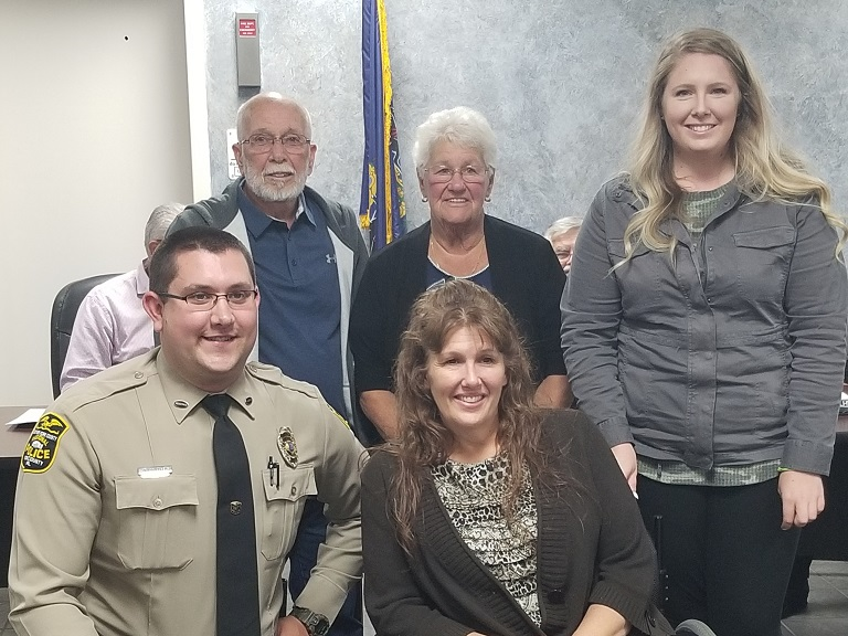 Officer Tyler Zeller recognized for saving woman's life following traffic accident