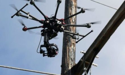 Drones inspecting power lines in Gordon Borough, town advises folks to don tinfoil hats
