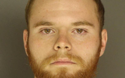 East Pennsboro Township Police Department arrested Benjamin Geoghan for Eluding Police, Burglary,  other charges