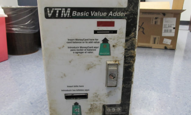 Bloomsburg Police investigating theft of  VTM Basic Value Adder cash/ card machine