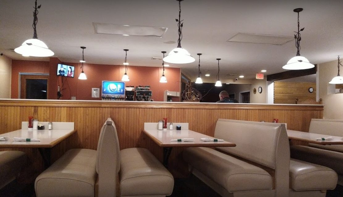 Cooking Equipment with encrusted grease and soil, Manheim 1 Diner fails restaurant inspection, 10 violations