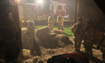 Meshoppen Volunteer Fire Department responds to barn fire Meshoppen and Springville