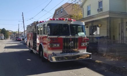 Pittston Fire Department a few free smoke detectors and help to install