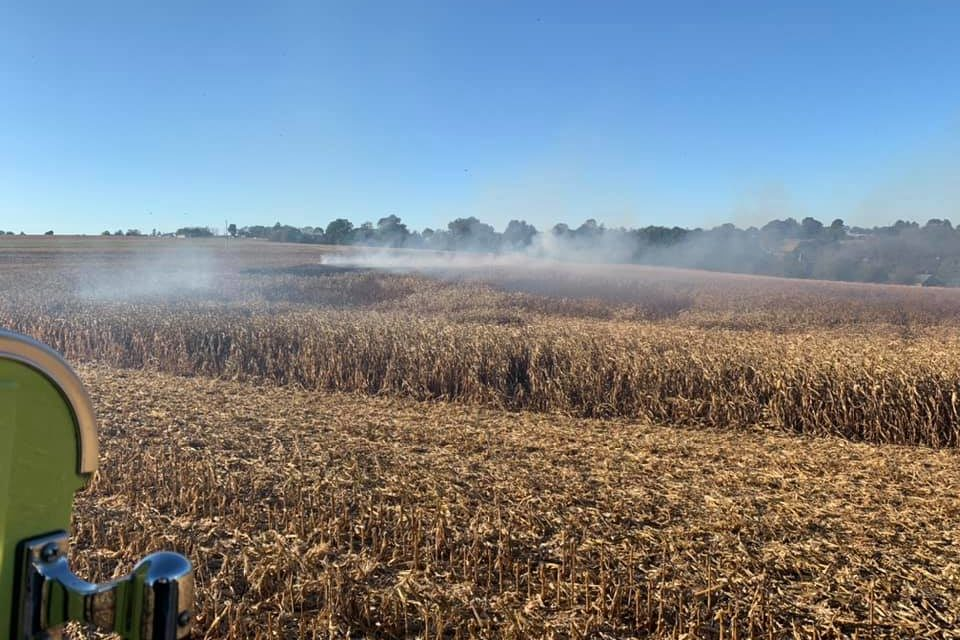 Quarryville Fire Department assists to put out corn field fire, protects area homes