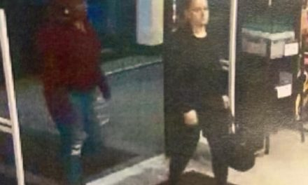Scranton Police looking for two people they are are involved with theft from Dick's Sporting Goods
