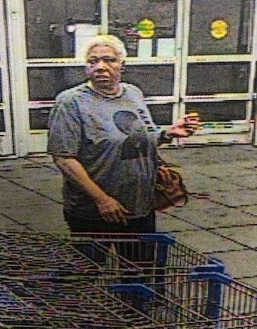 Officer Fishel is attempting to identify wallet thief suspect at Walmart in Springettsbury Township