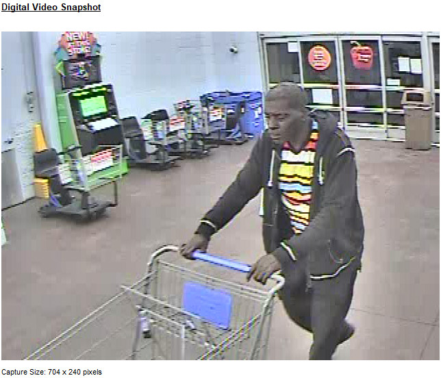 West Manheim Township Police looking for suspect they say has hit Walmart on several occasions