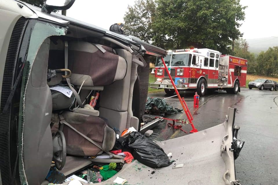 Wrightsville Fire & Rescue Company 41 responds to accident with one person confined