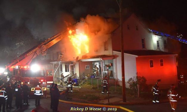 One firefighter injured in Harrisburg Fire in Allison Hill section of the city