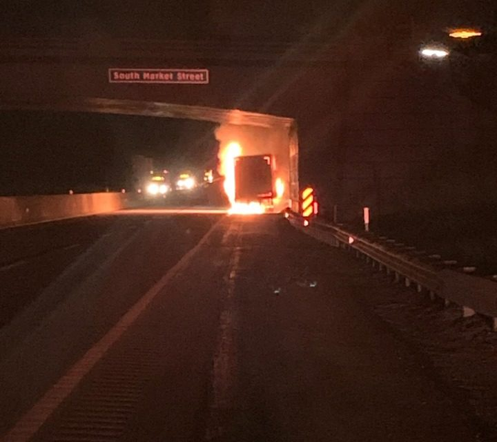 Upper Allen Township makes quick work of truck fire on PA Turnpike