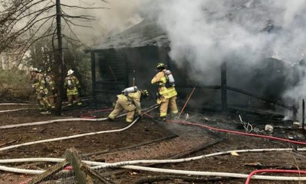 Log cabin burns in Lower Oxford Township Sunday afternoon