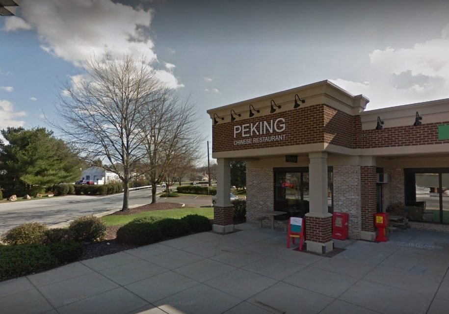 Hand sink not accessible, no soap; Peking Chinese in Quarryville flubs inspection with 12 violations