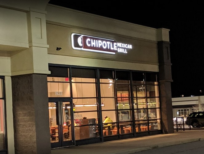 "Large infestation of insects, Chipotle on Springwood in York fouls inspection with 7 violations, ""extremely dirty"""