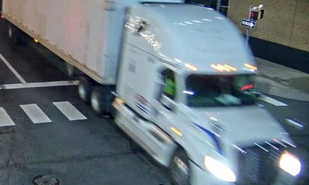 K-9 Cruiser left totaled in hit-and-run involving tractor trailer, police hope to identify driver