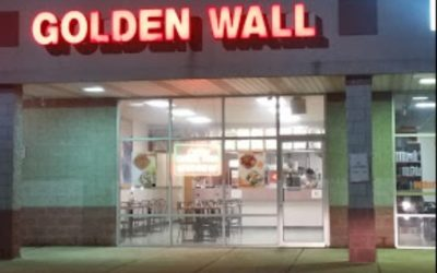 Golden Wall Chinese Restaurant in Gap blows inspection with 11 violations; cutting utensils stored clean with dried food residue, mildew type residue on the fan covers