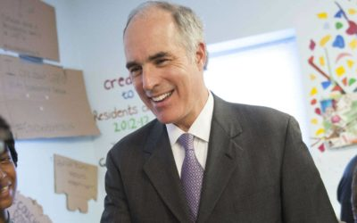"Senator Bob Casey accuses Trump of assaulting peaceful protesters saying Trump ""deployed tear-gas, rubber bullets and military personnel"""